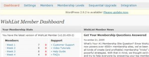 Wishlist WordPress Membership Site Plugin – My Review