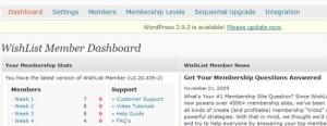 Wishlist WordPress Membership Site Plugin – My Review